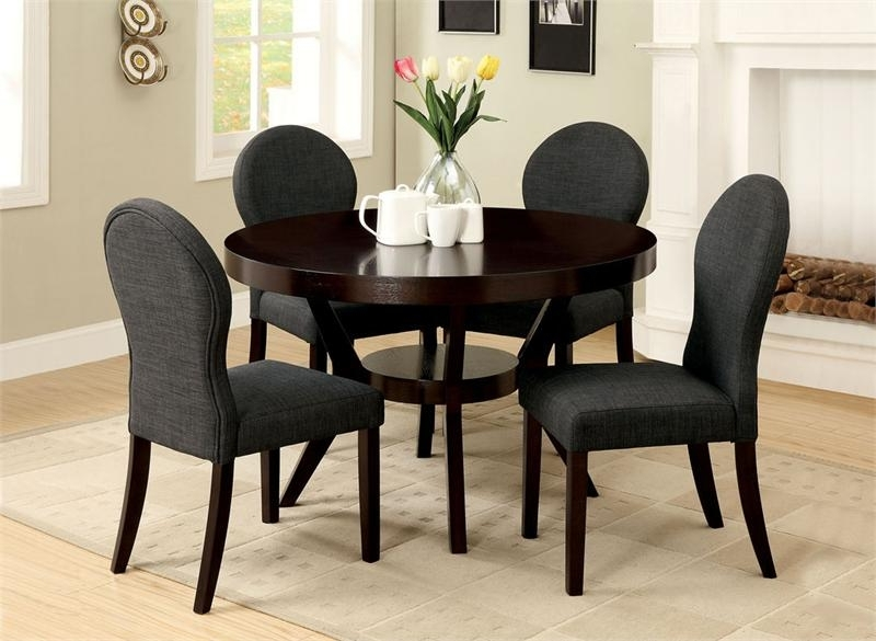 Well Liked Circular Dining Tables For 4 Regarding Small Round Dining Table Set – Castrophotos (View 6 of 20)