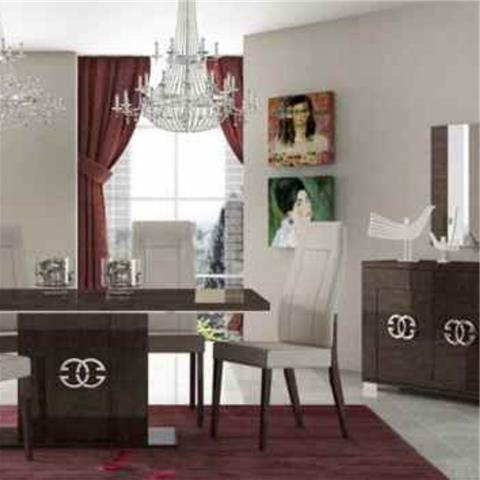 Well Liked Classic & Modern Italian Dining Intended For Modern Dining Table And Chairs (View 19 of 20)