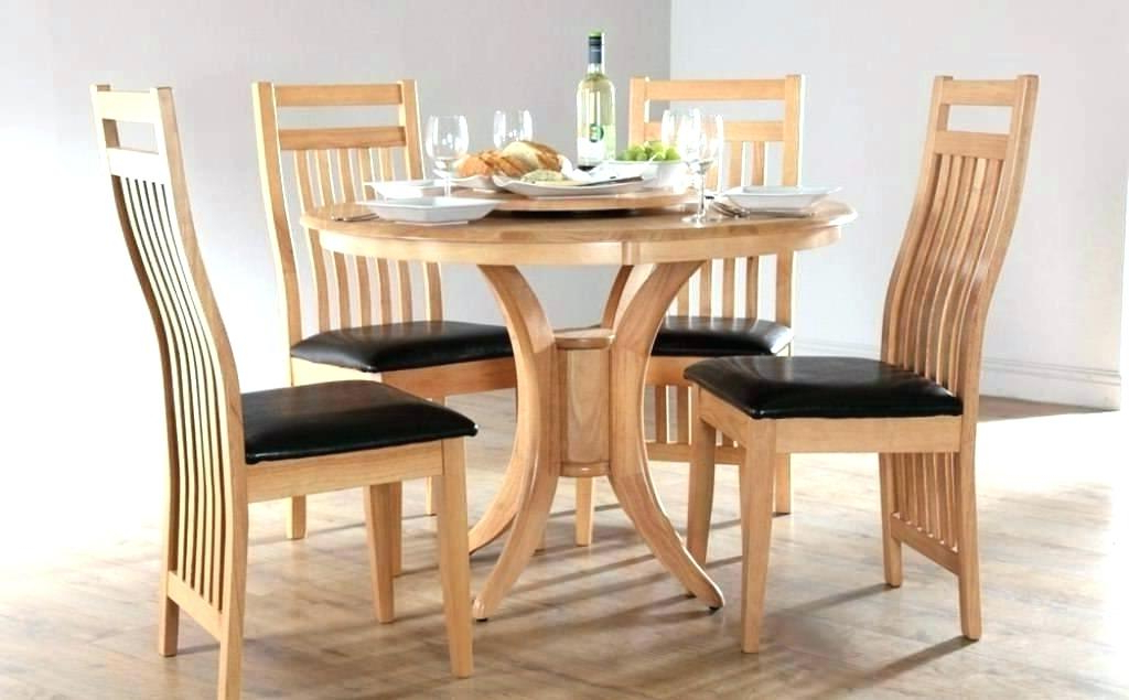 Well Liked Compact Dining Table 4 Chairs Small Dining Sets For 4 Dining Tables For Small Round Dining Table With 4 Chairs (View 20 of 20)