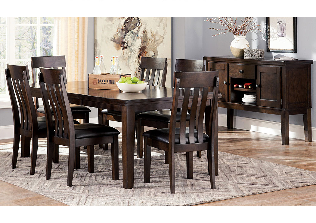 Well Liked Craftsman 5 Piece Round Dining Sets With Uph Side Chairs For Major Discount Furniture Haddigan Dark Brown Rectangle Dining Room (View 20 of 20)