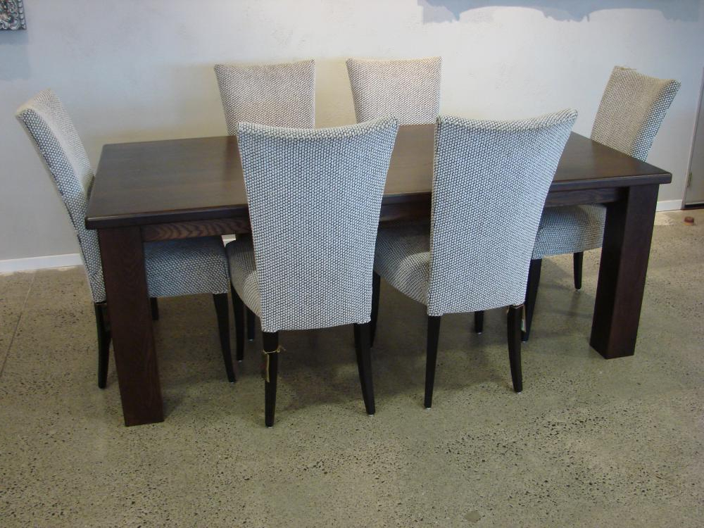 Well Liked Custom Made Dining Tables & Chairs Tauranga, Hamilton, Auckland For Hamilton Dining Tables (View 17 of 20)