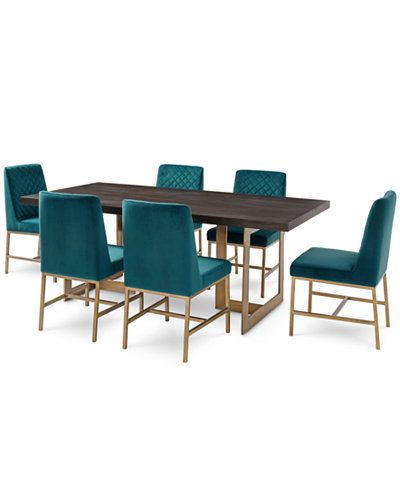 Well Liked Dining Room Chairs Only With Regard To Cambridge Dining Furniture, 7 Pc (View 17 of 20)
