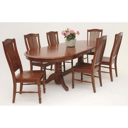 Well Liked Dining Table Sets For Wooden Dining Table Set At Rs 10000 /set (View 3 of 20)