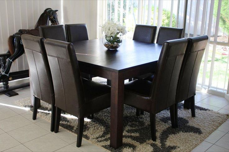 Well Liked Dining Tables With 8 Chairs Pertaining To 8 Best Furniture Images On Pinterest (View 10 of 20)