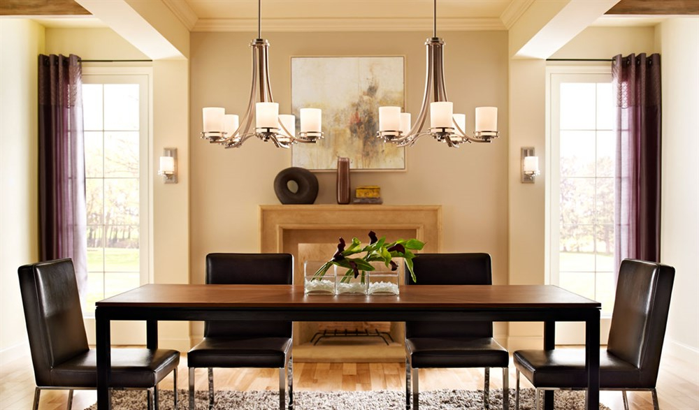 Well Liked Dining Tables With Led Lights Regarding Lights For Dining Room Ideas And Tips (View 17 of 20)