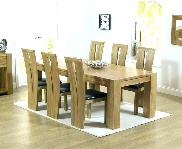 Well Liked Extendable Dining Tables 6 Chairs For Dining Room 6 Chairs Solid Oak Dining Table And 6 Chairs Vancouver (View 20 of 20)
