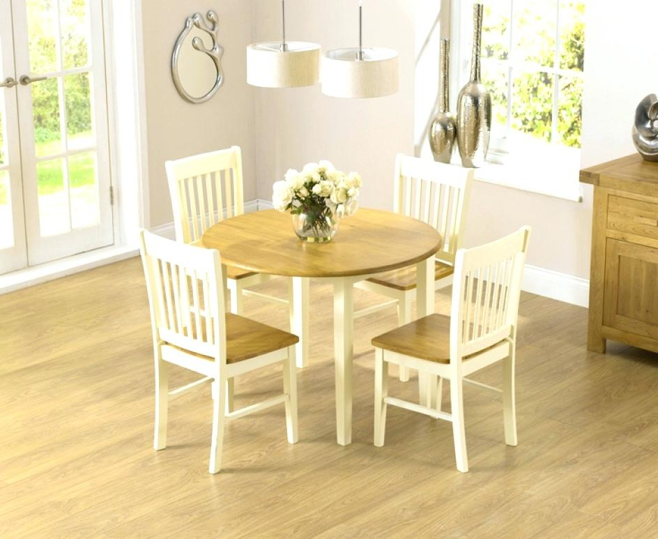 Well Liked Extraordinary Cream And Oak Dining Table Chairs Hygena Amparo Effect With Regard To Cream Dining Tables And Chairs (Gallery 18 of 20)