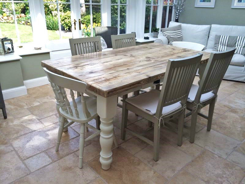 Well Liked Farm Dining Tables Within Farmhouse Dining Table Sets – Farmhouse Dining Table Decorating And (View 20 of 20)