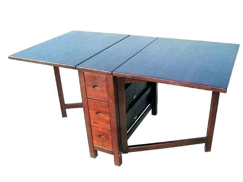 Well Liked Foldaway Dining Tables Intended For Fold Up Dining Table And Chairs Collapsible Dining Table And Chairs (View 15 of 20)