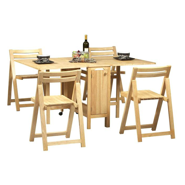 Well Liked Folding Dining Table And Chairs Sets Intended For Dining Table Chairs Set Dining Table Chair Set Solid Oak Dining Room (View 20 of 20)
