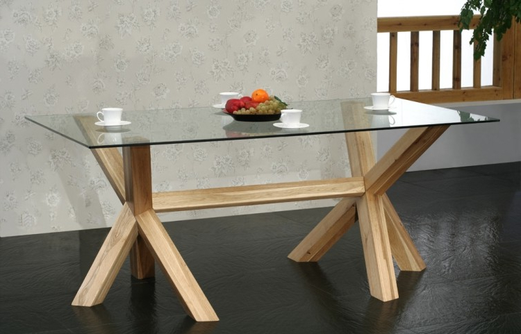 Well Liked Glass Oak Dining Tables With Buy Havana Oak Furniture Range Online From Oak Furniture House (View 11 of 20)