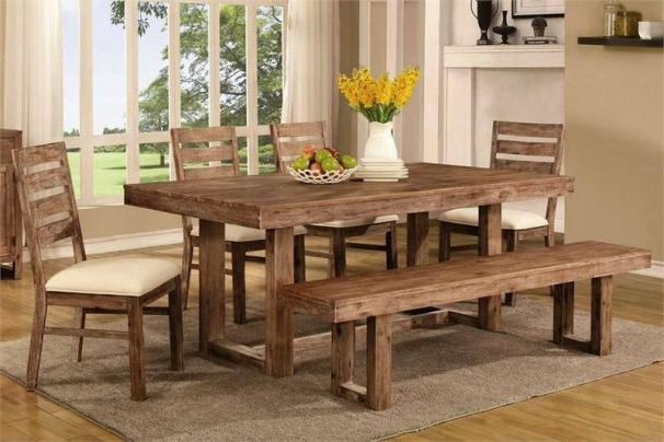 Well Liked Helms Rectangle Dining Tables Intended For Chelmsford Dining Set (View 18 of 20)