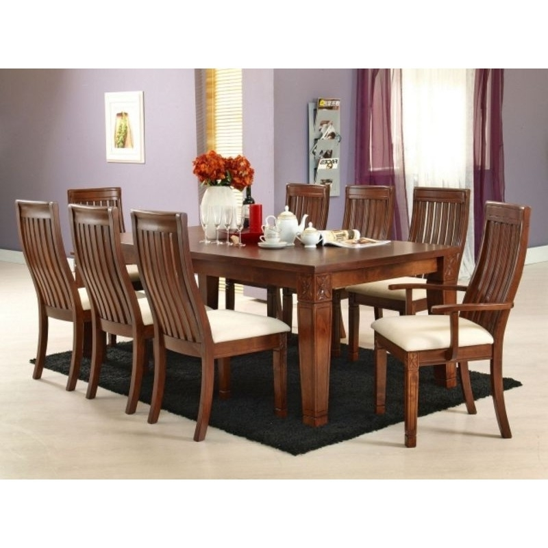 Well Liked Lavender 8 Seater Dining Table (View 19 of 20)