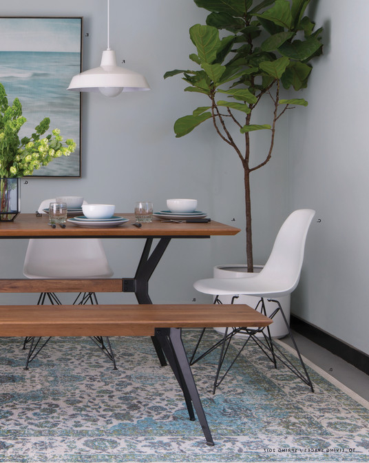 Well Liked Living Spaces – Product Catalog – Spring 2017 – Weaver Dining Table Pertaining To Weaver Ii Dining Tables (View 2 of 20)