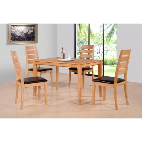 Well Liked Logan Dining Tables Inside Logan Dining Set – Jb Furniture (View 4 of 20)