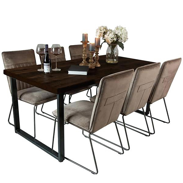 Featured Photo of Magnolia Home English Country Oval Dining Tables