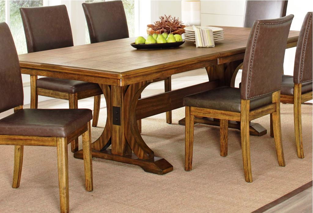 Well Liked Magnolia Home Trestle Dining Table : Donosti Knit Design – Ideas To Regarding Magnolia Home Sawbuck Dining Tables (View 19 of 20)