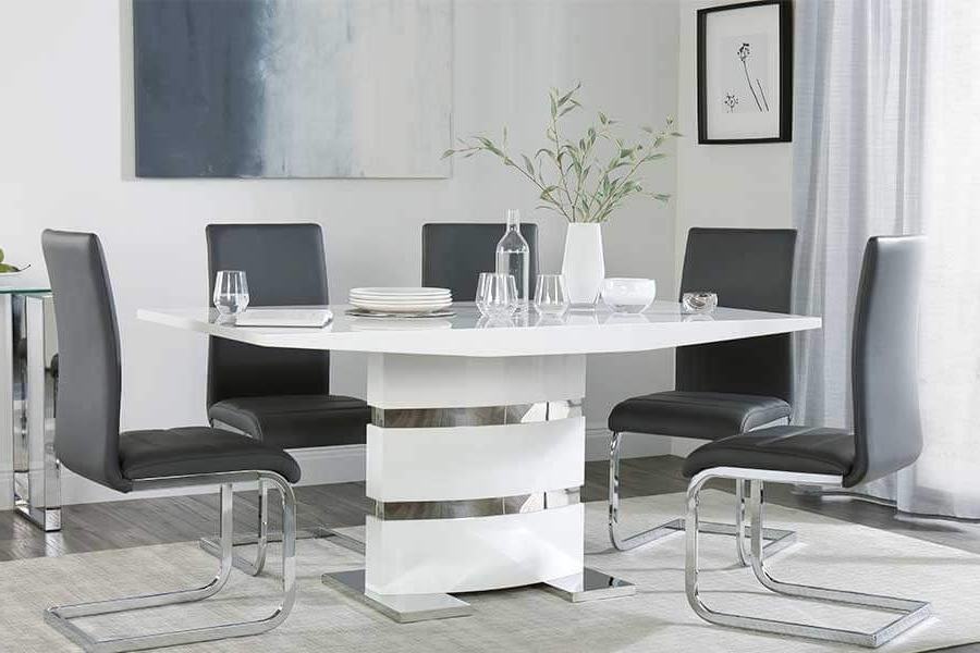 Well Liked Modern Dining Tables & Chairs – Modern Dining Sets (View 12 of 20)