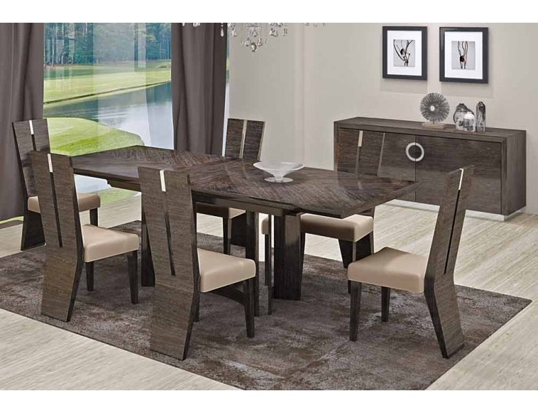 Well Liked Octavia Italian Modern Dining Room Furniture Inside Contemporary Dining Tables Sets (View 19 of 20)