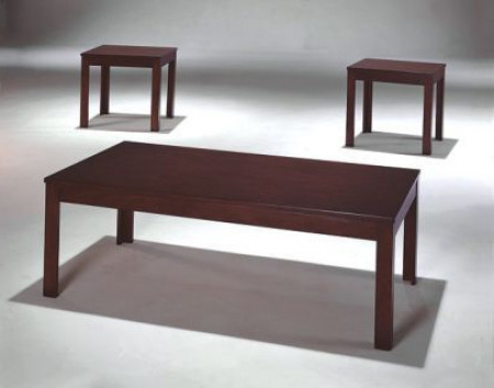 Well Liked Pierce 5 Piece Counter Sets For Pierce Dark Brown Wood 3 Piece Table Set (View 12 of 20)