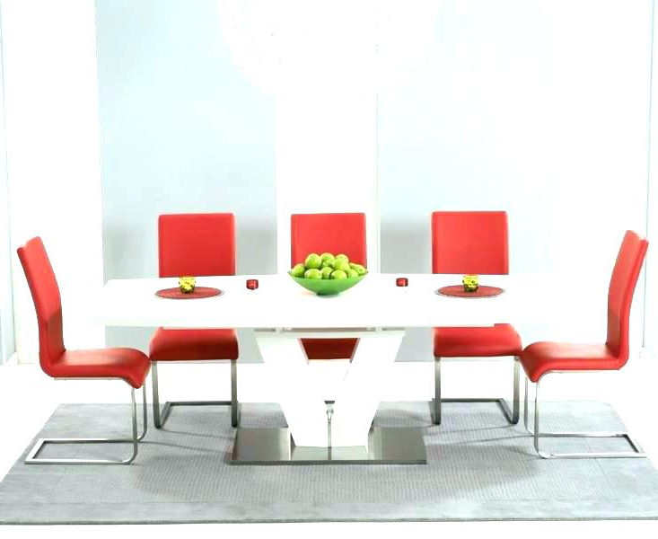 Well Liked Red Dining Chairs Pertaining To Modern Red Chair Modern Red Dining Chairs – Casinodrift.pro (Gallery 20 of 20)
