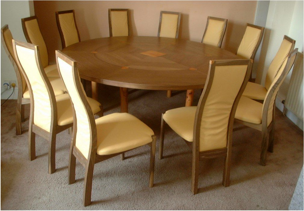 Well Liked Remarkable Dining Room Large Round Oak Dining Table 8 Chairs Inside Large Circular Dining Tables (View 8 of 20)