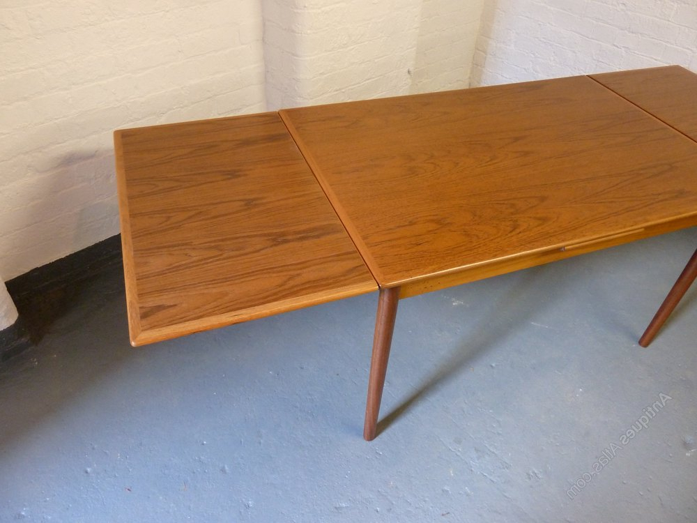 Well Liked Retro Extending Dining Tables Inside Antiques Atlas – Danish Teak Extending Dining Table C1960S (View 19 of 20)