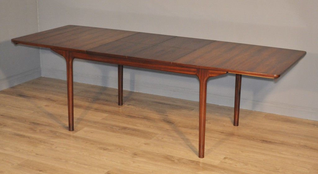 Well Liked Retro Extending Dining Tables Intended For Attractive Large Vintage Retro 60/70's Mcintosh Rosewood Extending (View 15 of 20)
