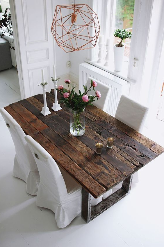 Well Liked Rustic Dining Tables With 75 Modern Rustic Ideas And Designs (View 5 of 20)