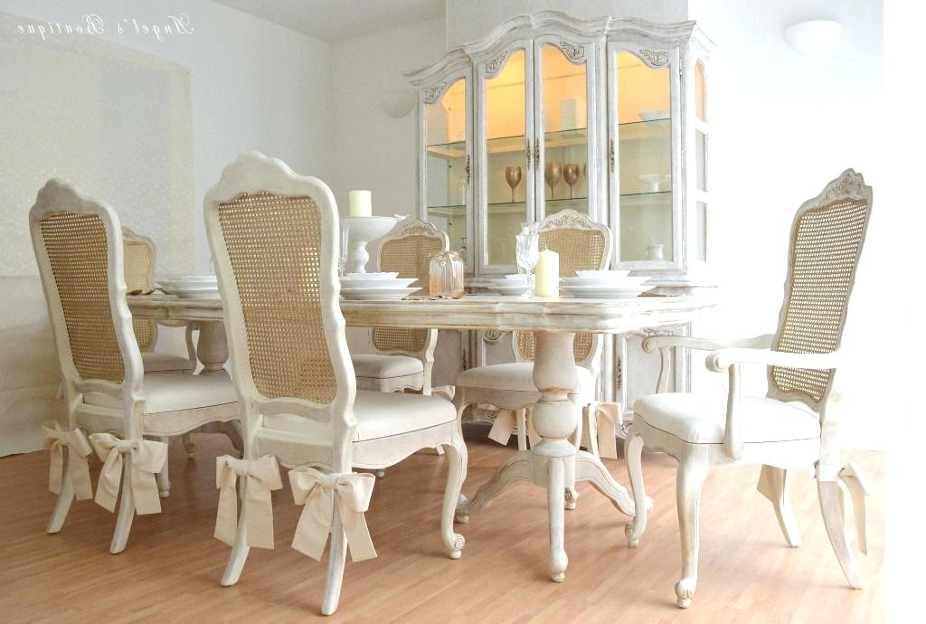 Well Liked Shabby Chic Dining Room Tables – Thehoneytrap (View 19 of 20)