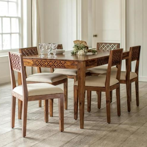 Well Liked Sheesham Wood Dining Table Set At Rs 65000 /set (Gallery 7 of 20)