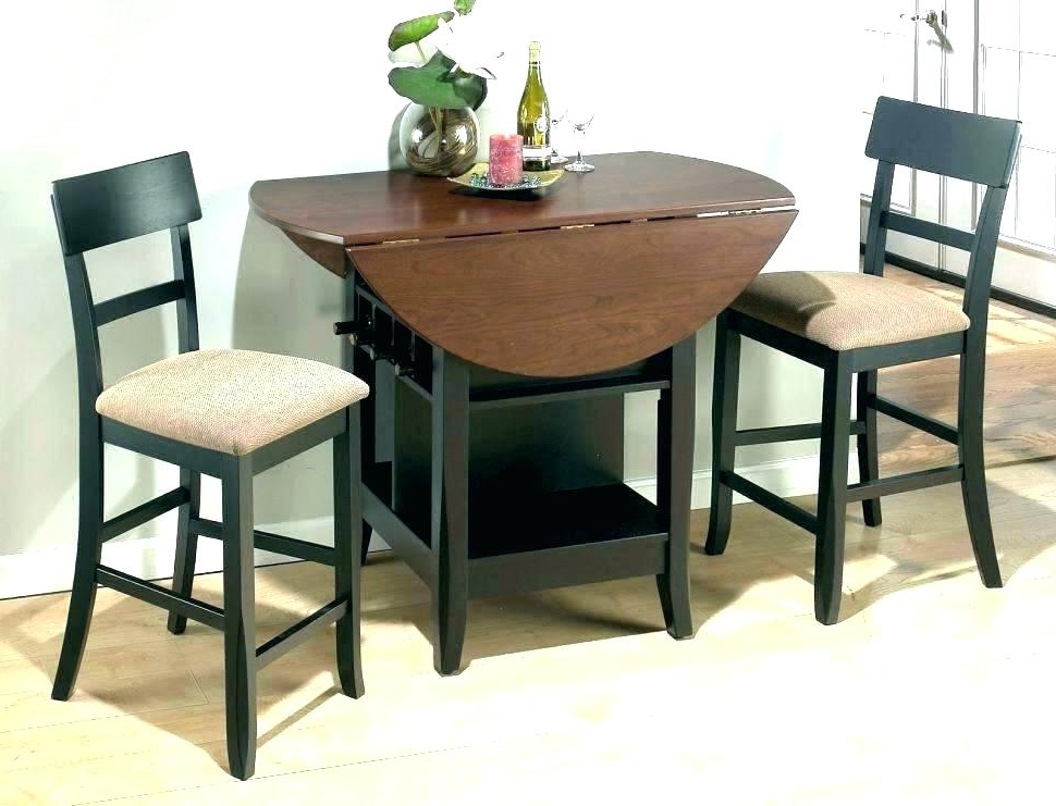 Well Liked Two Person Dining Table Kitchen 2 For 14 Round Small – Thestark (View 20 of 20)