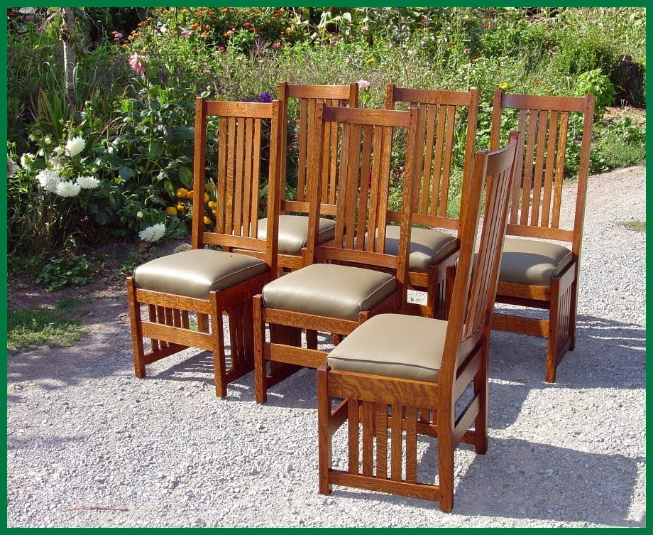 Well Liked Voorhees Craftsman Mission Oak Furniture – L. & J. G (View 5 of 20)