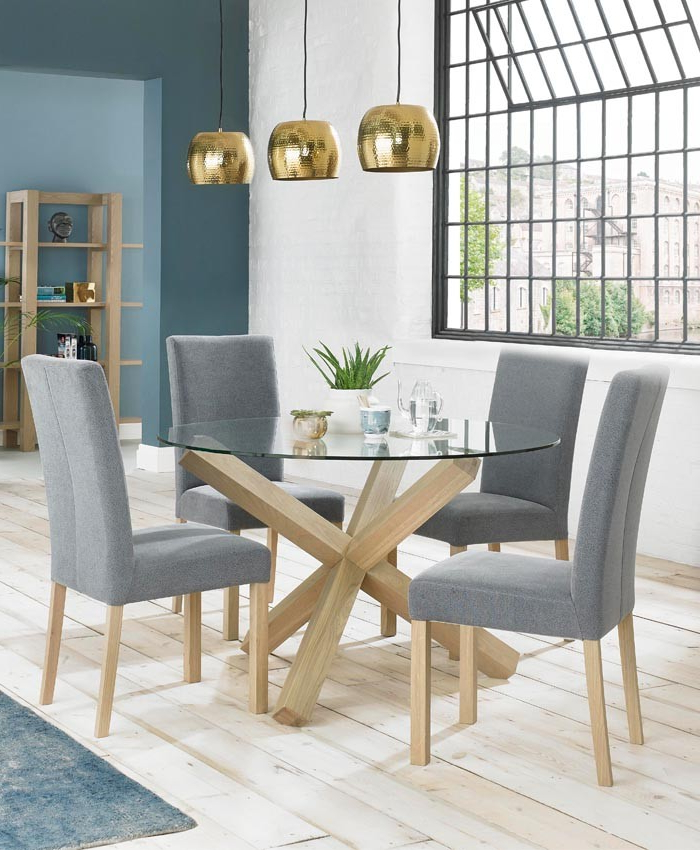 Wendycorsistaubcommunity With Regard To Most Recently Released Oak Glass Top Dining Tables (View 19 of 20)