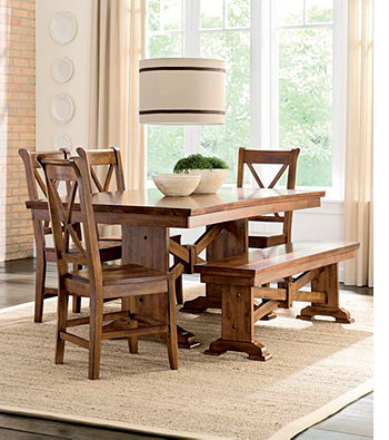 Whalen Furniture Cornwall Dining Room Collection At Www (View 19 of 20)