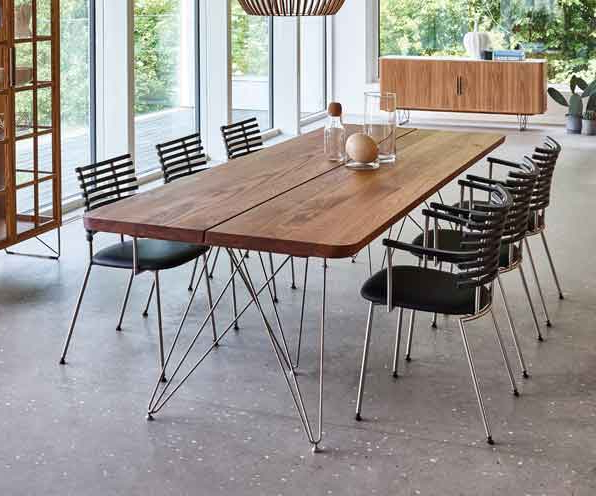 Wharfside Furniture Uk In Danish Style Dining Tables (View 9 of 20)