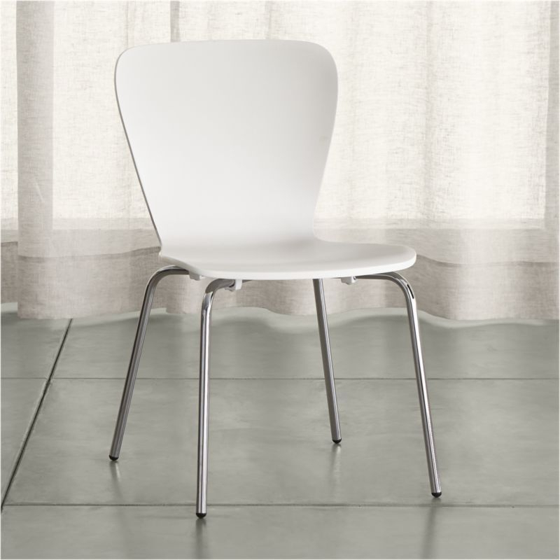 White Dining Chairs Intended For Well Liked Felix White Dining Chair (Gallery 14 of 20)