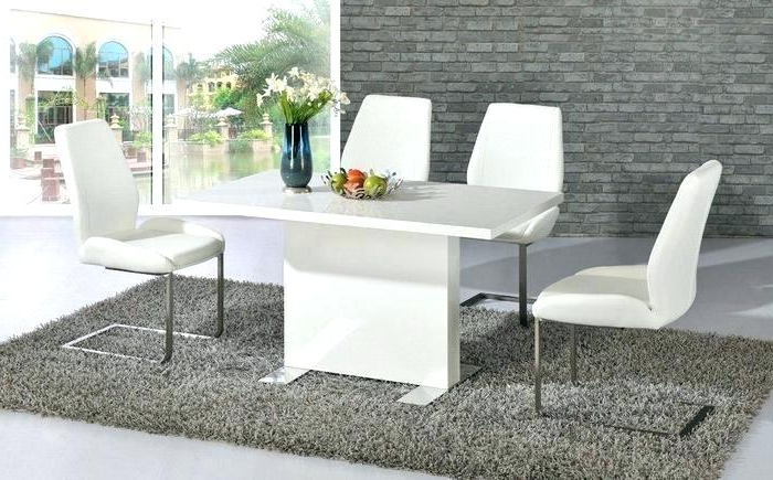 White Dining Room Table – Healingvision Regarding Well Known Shiny White Dining Tables (View 11 of 20)