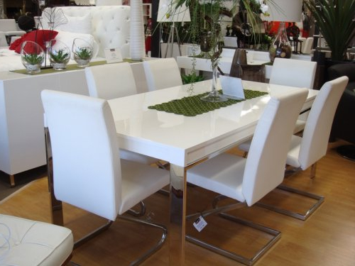 White Dining Suites Inside Most Up To Date Dining Tables Perth (Gallery 13 of 20)