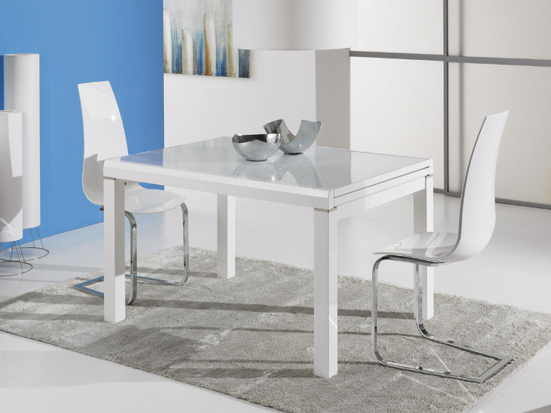 White Extendable Dining Tables Within Well Known Orlando Extendable Dining Table (View 19 of 20)