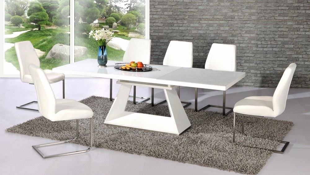 White Extending Dining Tables Intended For Most Popular Square Extending Dining Table And Chairs Inspirational 18 Beautiful (View 14 of 20)
