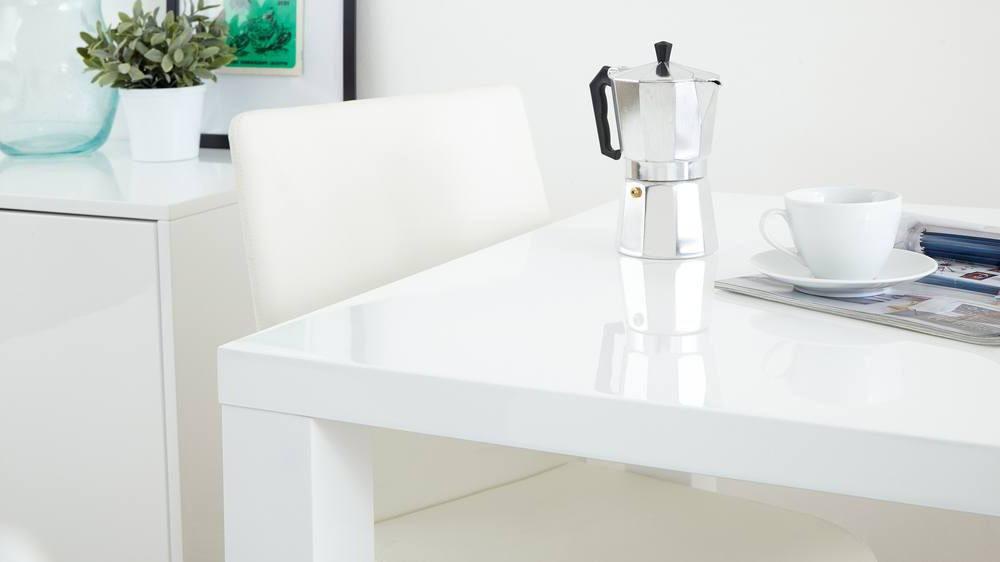 White Gloss Dining Set (View 15 of 20)