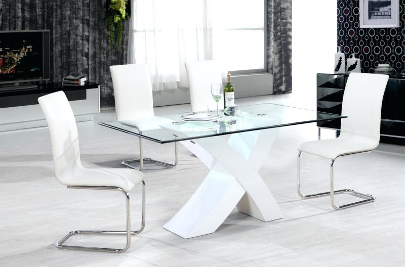 White Gloss Dining Sets Inside Trendy White Gloss Dining Set Dining Set White Gloss White High Gloss (View 15 of 20)
