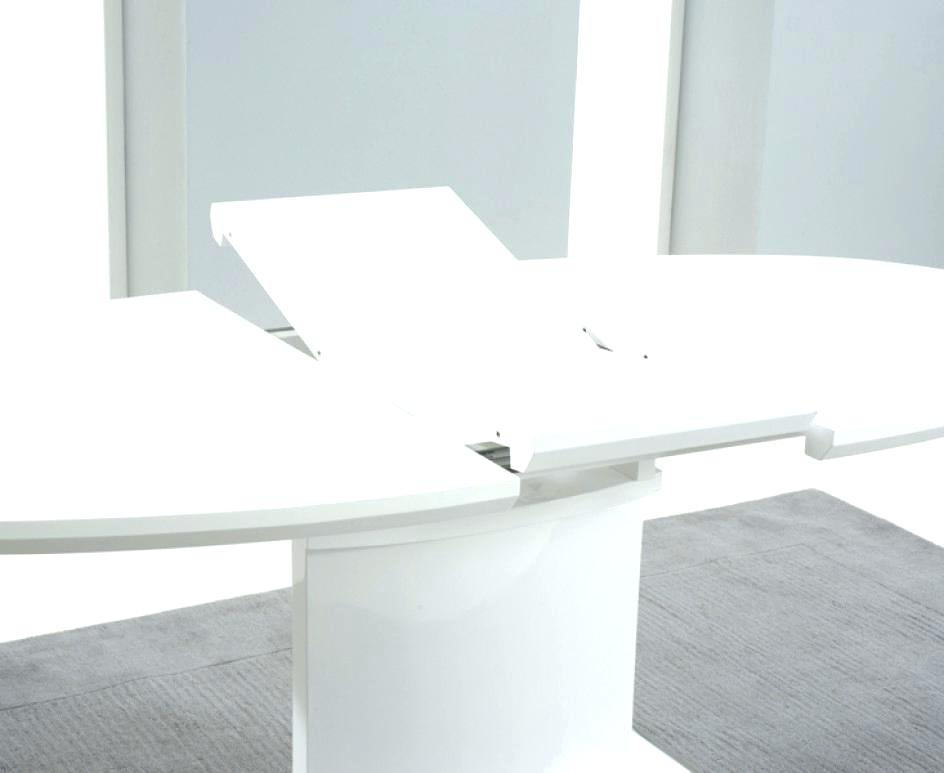 White Gloss Round Extending Dining Tables Throughout Most Current White Round Modern Dining Table Elegant Modern Round Dining Table (View 13 of 20)