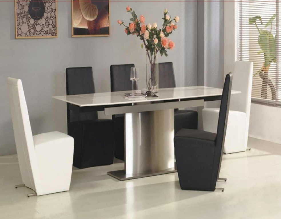 Featured Photo of White Melamine Dining Tables