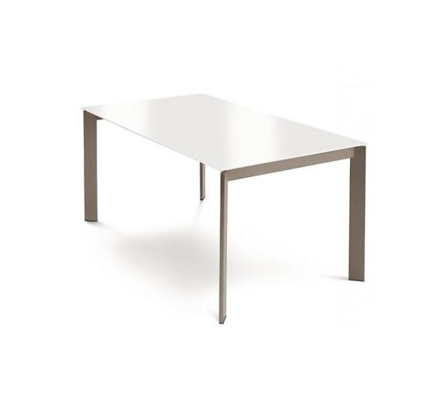 White Melamine Dining Tables Pertaining To Most Current Contemporary Dining Table / Wooden / Metal / Melamine – Glam  (View 17 of 20)