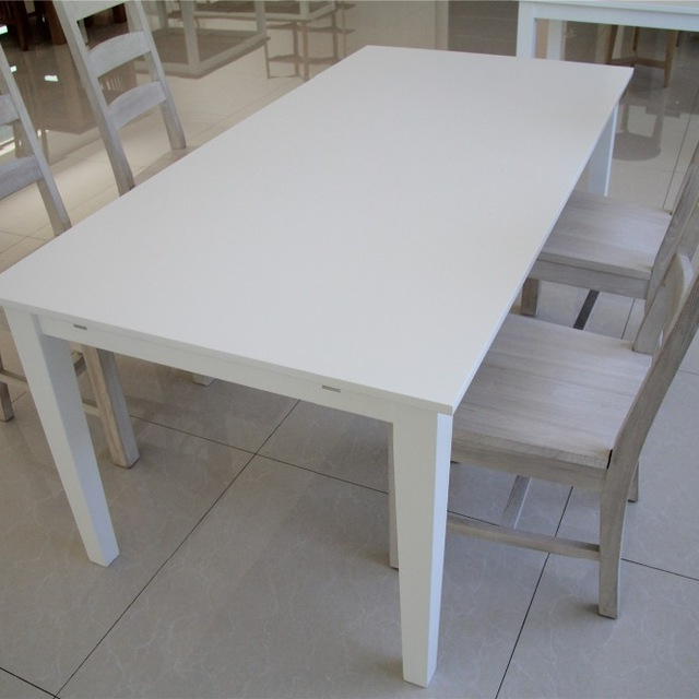 White Melamine Dining Tables With Most Recent Buy Cheap China Dining Room Set White Table Products, Find China (View 7 of 20)