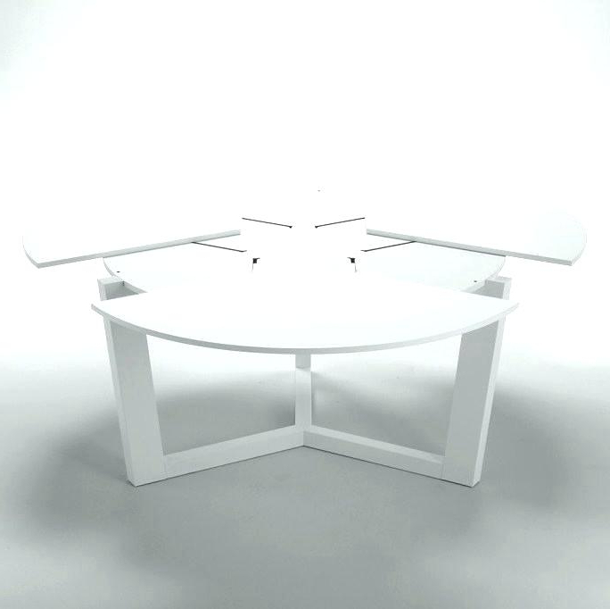 White Round Extendable Dining Tables Throughout Widely Used White Round Extending Dining Table – Emilytocco (View 6 of 20)