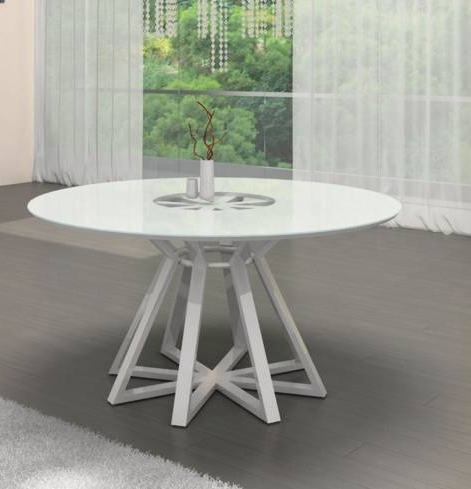 White Round Modern Table – Architecture Home Design • Within Well Liked White Circle Dining Tables (View 2 of 20)