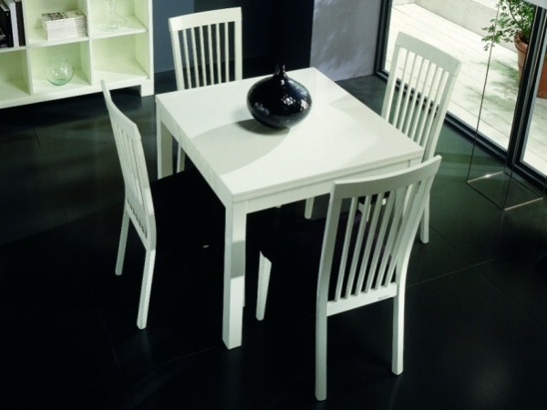 White Square Extending Dining Table (View 18 of 20)